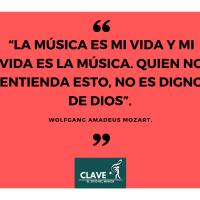 Frase de Mozart