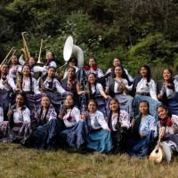 Banda filarmónica KA´UX, mujeres  oaxaqueñas unidas por la música